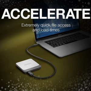 Seagate disque dure Fast SSD 500GB External Solid State Drive Portable