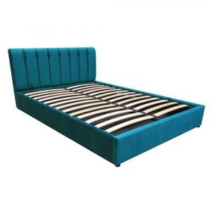 LIT ROI HYDRAULIQUE 180X200 TURQUOISE chambre simple